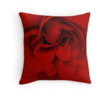 red.. Throw Pillow