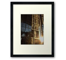 the Great West Screen Framed Print