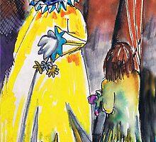Spooky Old Clown by Seth  Weaver
