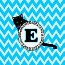 E Cat Chevron Monogram by gretzky
