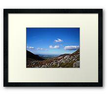 NI landscape Belfast Framed Print