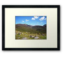 NI landscape Framed Print