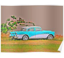 1956 Buick Special in HDR Poster