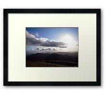 landscape NI Framed Print