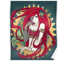 Steampunk Ariel Poster