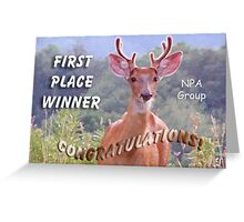 NPA challenge banner Greeting Card