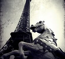 The Parisienne Eiffel Tower by Josephine Pugh