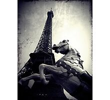 The Parisienne Eiffel Tower Photographic Print