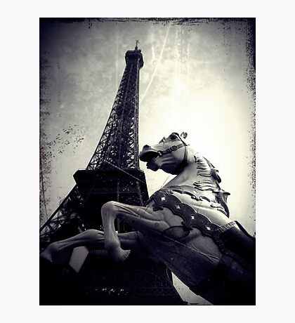 The Parisienne Eiffel Tower Photographic Print
