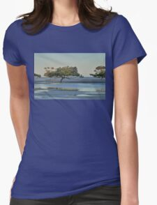 Clairview Mangroves  Panorama  Womens Fitted T-Shirt