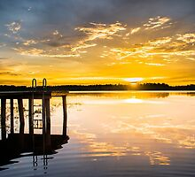 Golden Warmth at Sunset by Parker Cunningham