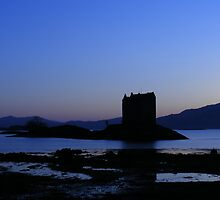 Castle Stalker, Scotland by ElsT