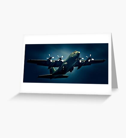 Air Force Blue Greeting Card