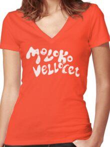 Moloko Vellocet Women's Fitted V-Neck T-Shirt