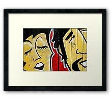 Paul and Ringo Framed Print