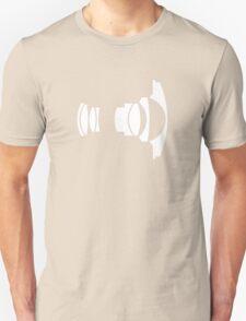 Nikon 16mm f/2.8 Fisheye Unisex T-Shirt