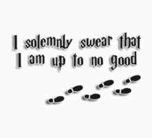 I solemnly swear I am up to no good by fashprints