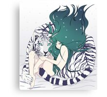 Frosty Goddess  Canvas Print