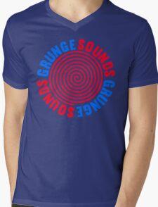 Grunge Sounds Mens V-Neck T-Shirt