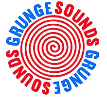 Grunge Sounds Photographic Print