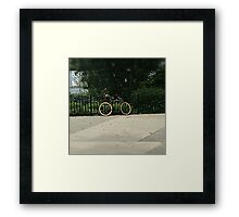 Flee Framed Print