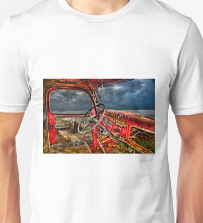 I could smell the stories in the rust Unisex T-Shirt