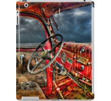 I could smell the stories in the rust iPad Case/Skin