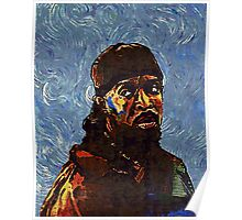 Omar Little - by Van Gogh Poster