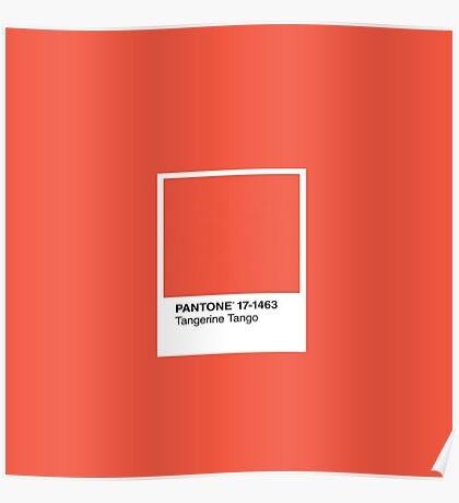 Tangerine Tango  Poster