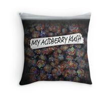 Weed bag acidberry kush Throw Pillow
