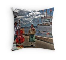 Fine Tuners Throw Pillow