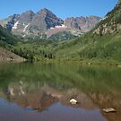 Maroon Bells, Colorado by saxonfenken