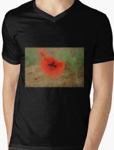 Poppy Mens V-Neck T-Shirt