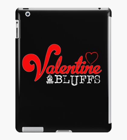 Valentine Bluffs iPad Case/Skin