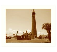 Ponce de Leon Inlet House light Station  Art Print