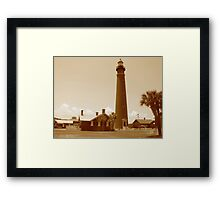 Ponce de Leon Inlet House light Station  Framed Print