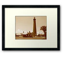 Ponce de Leon Inlet House light Station  Framed Print