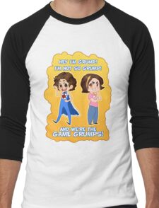 And We're the Game Grumps! Men's Baseball ¾ T-Shirt
