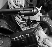 Antique Colt revolver photography poster by Vitaliy Gonikman