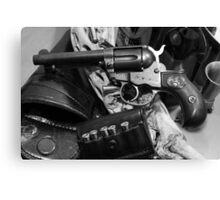 Antique Colt revolver photography poster Canvas Print