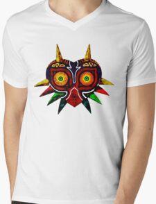 Majoras Mask Mens V-Neck T-Shirt