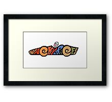 Wacky Races -A Classic Cartoon Framed Print