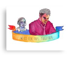 Fitzsimmons- Together Canvas Print