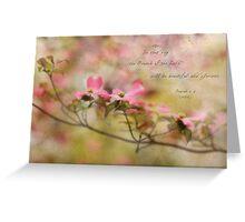 Dogwood Limb Greeting Card