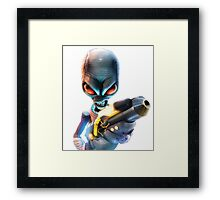 Destroy All Humans: Disintegrator Ray Framed Print