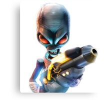 Destroy All Humans: Disintegrator Ray Canvas Print