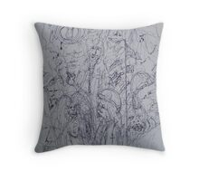 I See Angels Throw Pillow
