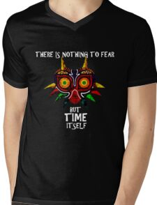 Majoras Mask Nothing to fear but time itself Mens V-Neck T-Shirt