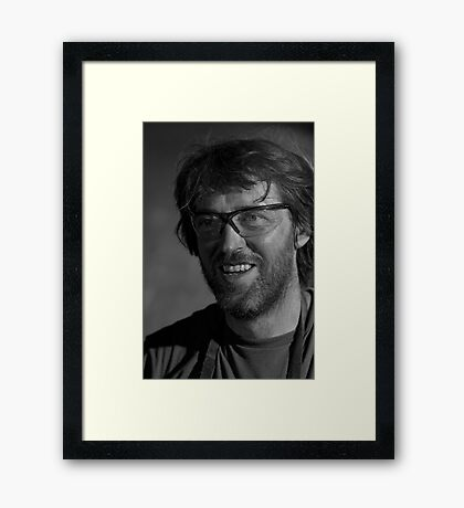 The Blacksmith Genius Framed Print