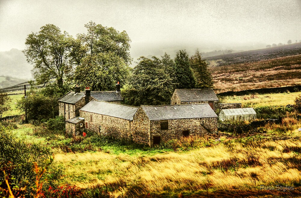 """""""up ont' moor"""" by Russ Styles"""